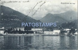 60115 ITALY GRAVEDONA DAL LAGO COMO VIEW PARTIAL POSTAL POSTCARD - Italia