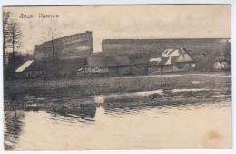 Belarus Lithuania 1910 Lida, Gedimin Fortress Castle, Canceled Vilna Or Wilna - Belarus