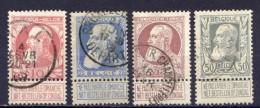 Belgien Ex.Nr.71/5         O  Used       (431) - 1905 Breiter Bart