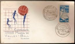 Brazil ** & FDC  Basketball World Championship, Rio De Janeiro, 1960 (697)
