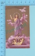 Image Religieuse - Gold Print, La Resurection - 2 Scans - Devotion Images