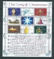 Christmas Island 1978 The Song Of Christmas Miniature Sheet VFU - Christmas Island