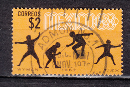 Mexique, Mexico, Escrime, Fencing, Jeux Olympiques, Olympic Games, Jaune, Yellow - Fencing