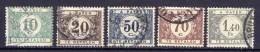 Belgien Porto Ex.Nr.23/35         O  Used       (517) - Portomarken