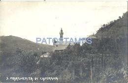 60140 ITALY CHIAVARI CHURCH SAN MARGHERITA DI CAPERANA POSTAL POSTCARD - Italie