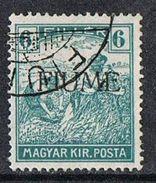 Fiume SG4 1918 Definitive 6f Fine Used [12/12573/7D] - 9. WW II Occupation (Italian)