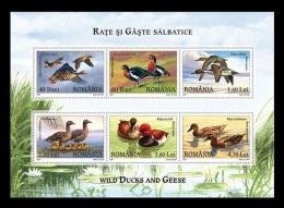 Romania 2007 Mih. 6213/18 (Bl.402) Fauna. Birds. Ducks MNH ** - 1948-.... Republics