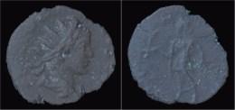 Tetricus II Billon Antoninianus Spes Advancing Left - 5. La Crisi Militare (235 / 284)