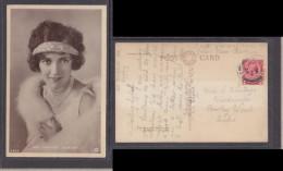 Miss Constance Talmadge, Film Actress  Photo, Used LONDON 1923 - Actors