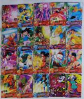 Dragon Ball Heroes : 20 Japanese Trading Cards - Dragonball Z
