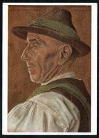 7412 - Alte Künstlerkarte - Trachten Tiroler Altbauer - W. Willrich - VDA  - P 14 Nr. 7 - TOP - Illustrators & Photographers