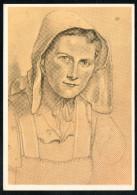 7425 - Alte Künstlerkarte - Trachten Bauerntochter Aus Niedersachsen - W. Willrich - VDA  - P 14 Nr. 24 - TOP - Illustrators & Photographers