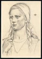 7426 - Alte Künstlerkarte - Trachten Landarbeiterkind - W. Willrich - VDA  - P 14 Nr. 25 - TOP - Illustrators & Photographers