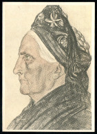 7432 - Alte Künstlerkarte - Trachten Inselfriesin - W. Willrich - VDA  - P 14 Nr. 35 - TOP - Illustrators & Photographers