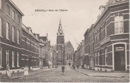 CPA - AK Renaix Ronse Rue De Eglise Ostflandern Bei Oudenaarde Tournai Cinquant Maarkedal Frasnes Les Anvaing Ainieres - Renaix - Ronse