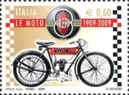 ITALIA REPUBBLICA ITALY REPUBLIC 2009 LE MOTO CENTENARIO DELLA FONDAZIONE DELLA GILERA MNH - 6. 1946-.. Republic