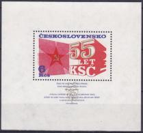 ** Tchécoslovaquie 1976 Mi 2323 - Bl. 32 (Yv BF 38), (MNH)
