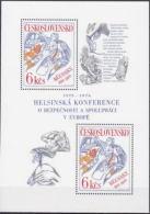 ** Tchécoslovaquie 1976 Mi 2335 - Bl. 33 (Yv BF 39), (MNH)