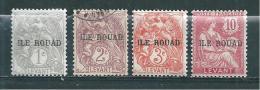 Colonie Rouad  Timbre De 1916/20  N°4 A 6  + N°8  ( N°5 Oblitéré) - Neufs
