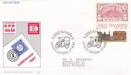 Denmark FDC 1987 Hafnia 87 (G86-7)
