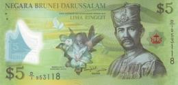 BRUNEI 5 DOLLARS 2011 P-36 UNC  [BN302a] - Brunei