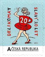 Czech Republic - 2015 - Delikomat - Celebrating 20 Years - Mint Personalized Self-adhesive Stamp - Tsjechië