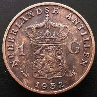 1952 NETHERLANDS ANTILLES 1 GULDEN SILVER COIN - **GREAT CONDITION** D29 - Non Classés