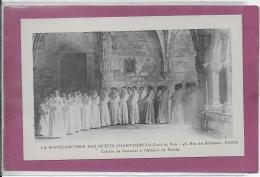 MANECANTERIE DES PETITS CHANTEURS A LA CROIX DE BOIS Colonie De Vacances à L' Abbaye De NOIRLAC - Scouting
