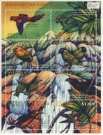 MDB-BK3-414a MINT POSTFRIS ¤ ANTIGUA & BARBUDA 8w In SHEETS 2000  ¤ - BIRDS - BIRDS OF THE CARRIBBEAN -