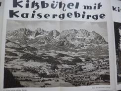 Guide Touristique 4 Volets + Dépliants TyrolKitzbühel - Tourisme