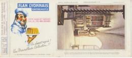 Buvard - FLAN LYONNAIS - Chateau De CINQ-MARS - N°15 - Blotters