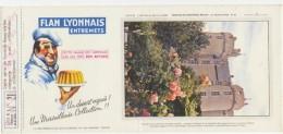 Buvard - FLAN LYONNAIS - Chateau De MONTREUIL-BELLAY - N°21 - Blotters