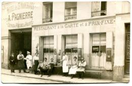 NANTES(LOIRE ATLANTIQUE) 26 ARMAND BROSSARD(CARTE PHOTO) RESTAURANT - Nantes