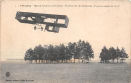 """¤¤  -  7  -  Camp De CHALONS  -  L´Aéroplane """" FARMAN """"  -  Avion , Aviation    -  ¤¤ - Châlons-sur-Marne"""