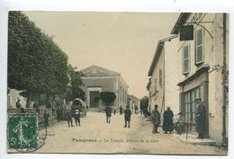Pamproux Temple Café - France