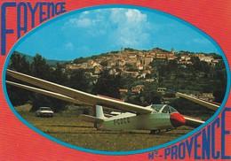 83-----FAYENCE--Hte-PROVENCE---planeur---voir 2 Scans - Fayence
