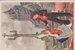 C P S M  HOMUALK EN PARCOURANT LA BRETAGNE  SAINT GUENOLE SÉRIE 1950  N 85 - Homualk