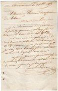 VP5908 - Lettre De CHATELLERAULT Pour Mr Le Maire De THURE - Manuscrits