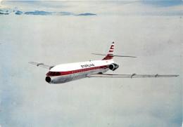 """¤¤   -   SUPER-CARAVELLE Construit Par Sud-Aviation De La Compagnie """" STERLING """"    -  Avion     -  ¤¤"""