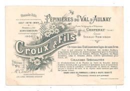 Chatenay Pépinières Du Val D'Aulnay -Croux- Fils (B.4883) - Chatenay Malabry