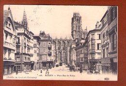 1 Cpa Rouen Place Eau De Robec - Rouen