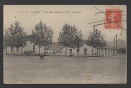DF / 34 HERAULT / LODEVE / NOUVELLES CASERNES DU 142e / CIRCULÉE EN 1917 - Lodeve