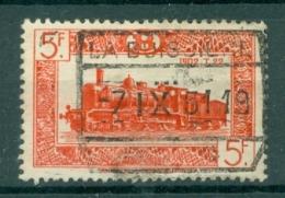 """BELGIE - OBP Nr TR 309 - Cachet  """"LA BUISSIÈRE"""" - (ref. AD-7046) - Chemins De Fer"""