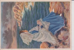 C P S M  HOMUALK EN PARCOURANT LA BRETAGNE TREGASTEL SÉRIE 1950  N 110 - Homualk