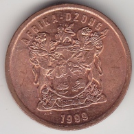 @Y@    5  Cent  Dzonga   Afrika   1999      (3270)  XF+ - Zuid-Afrika