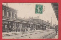 Tergnier  --  Gare Et Quais - France