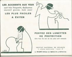 BUVARD NEUF SUPERBE    INSTITUT NATIONAL DE SECURITE N°56 - Bank & Insurance