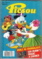 """PICSOU MAGAZINE N° 182 """" EDI-MONDE """" DE 1987 - Picsou Magazine"""