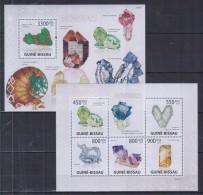 O12 Guinea-Bissau - MNH - Minerals - 2009