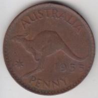 @Y@    Australië   1 Penny  1955    (3278) - Zonder Classificatie